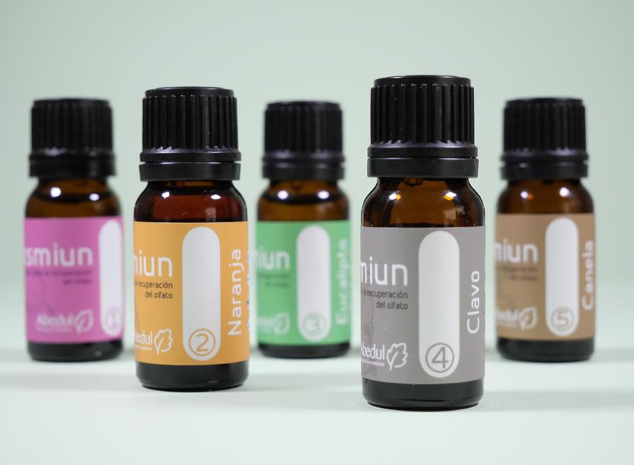 Recupera el olfato con kit aceites esenciales
