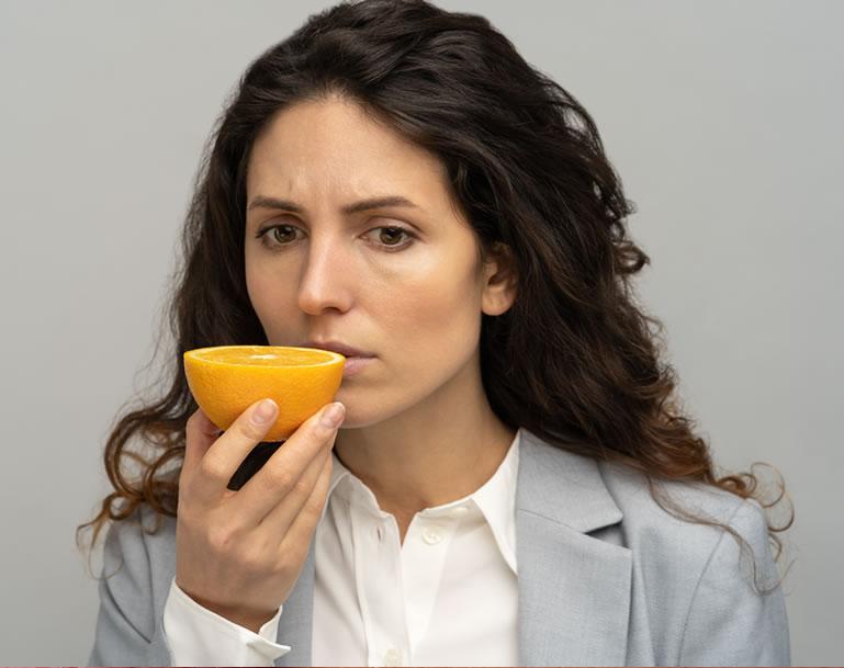 Combatir la pérdida de olfato
